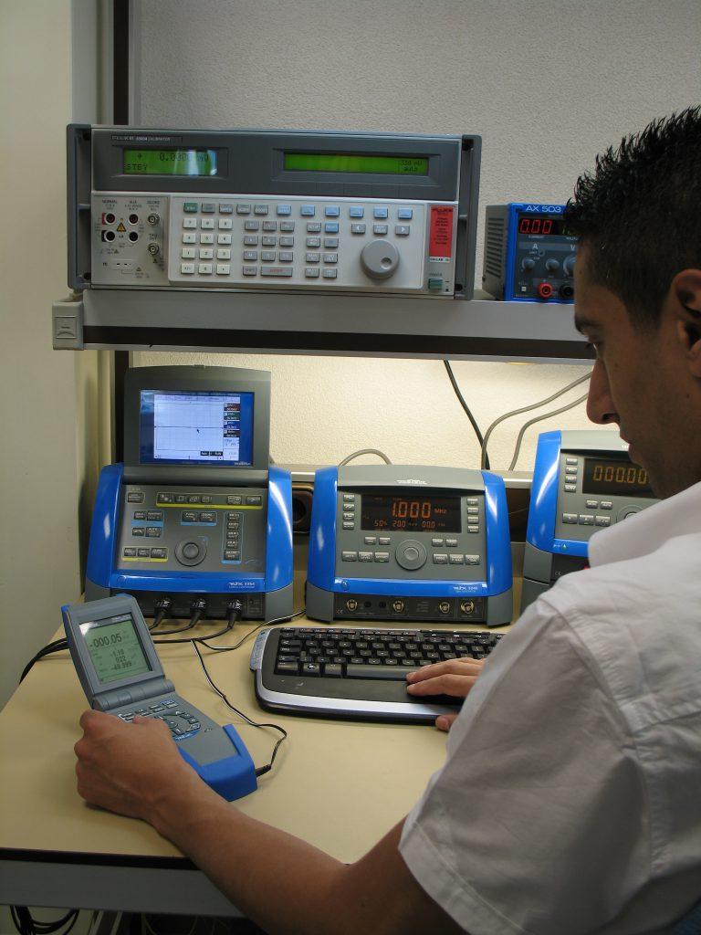 Kalibreren van meetinstrumenten