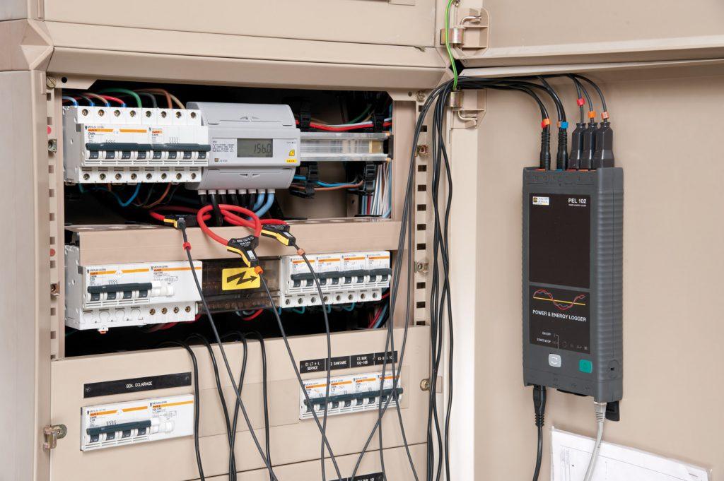 Energieregistratie met PEL102 logger