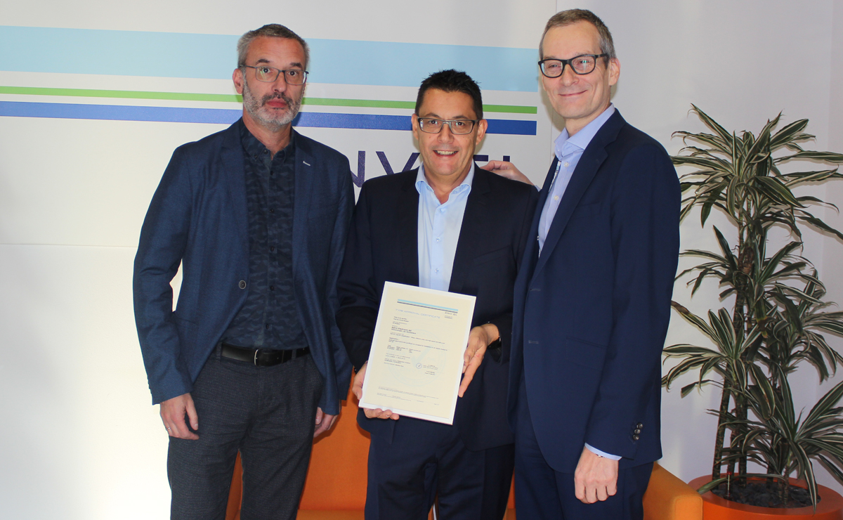 Receiving DNV GL type approval for the DC breaker switch