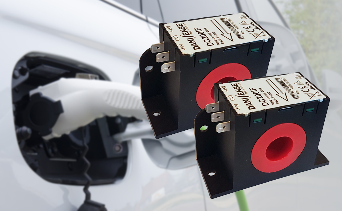 Ultra stable current transducers for calibration of EV chargers