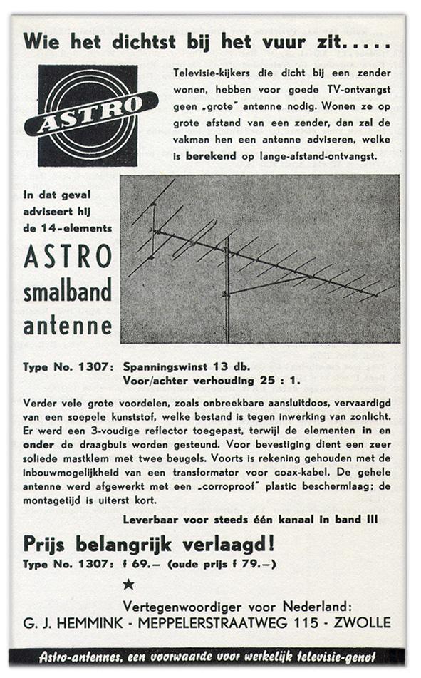Astro jaren '50