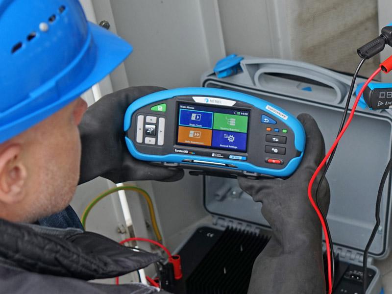 Metrel EurotestXD MI3155 installatietester