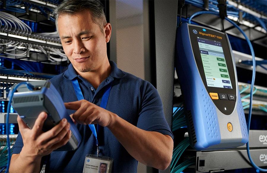 Multi-Gigabit Ethernet tester