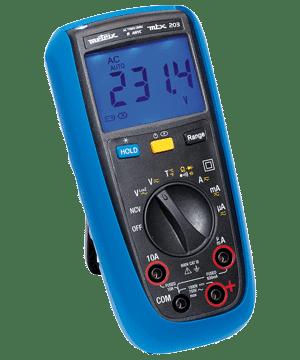 Digitale multimeter MTX203