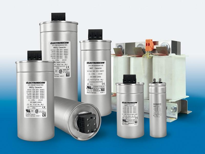 Metal film capacitors