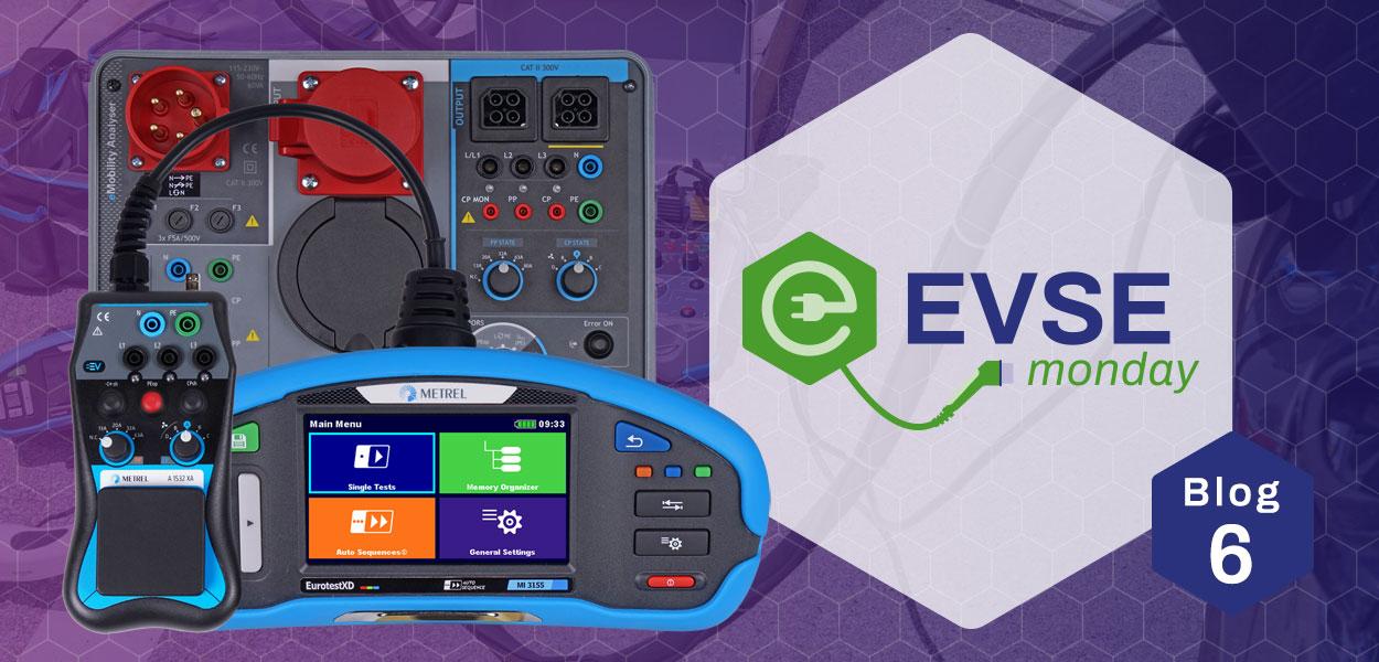 Meetinstrumenten voor EVSE-installaties