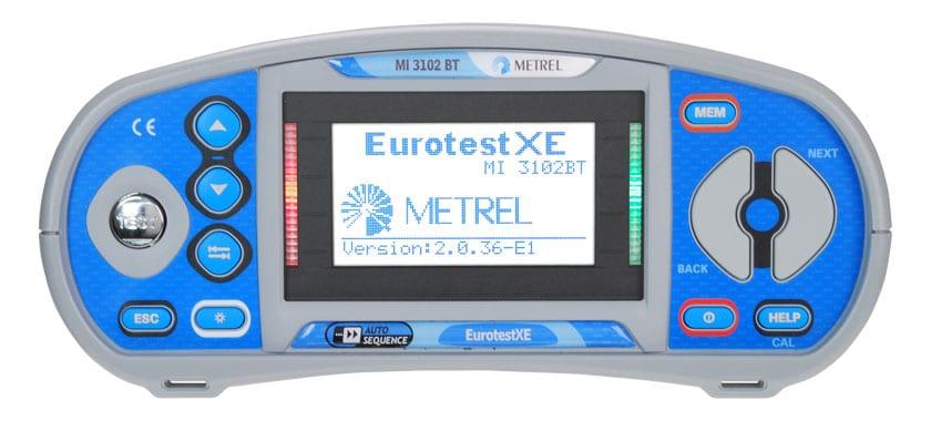 EVSE testen EurotestXE