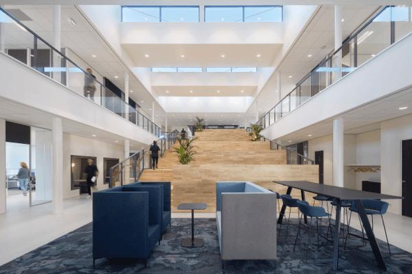 Het hypermoderne kantoor van Hanzestrohm